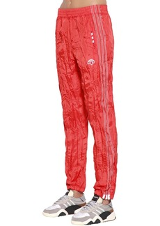 Adidas Aw Wrinkled Tear Away Track Pants