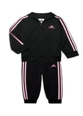 Adidas Baby Girl's 2-Piece Track Jacket & Joggers Set