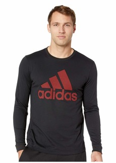 Adidas Badge of Sport Mesh Long Sleeve