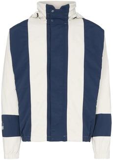 Adidas bailer stripe hooded jacket