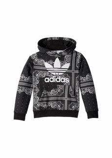 Adidas Bandana Hoodie (Little Kids/Big Kids)