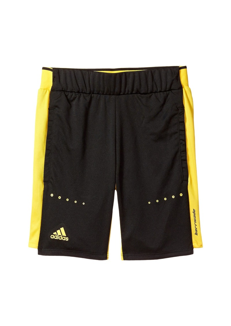 Adidas Barricade Shorts (Little Kids/Big Kids)