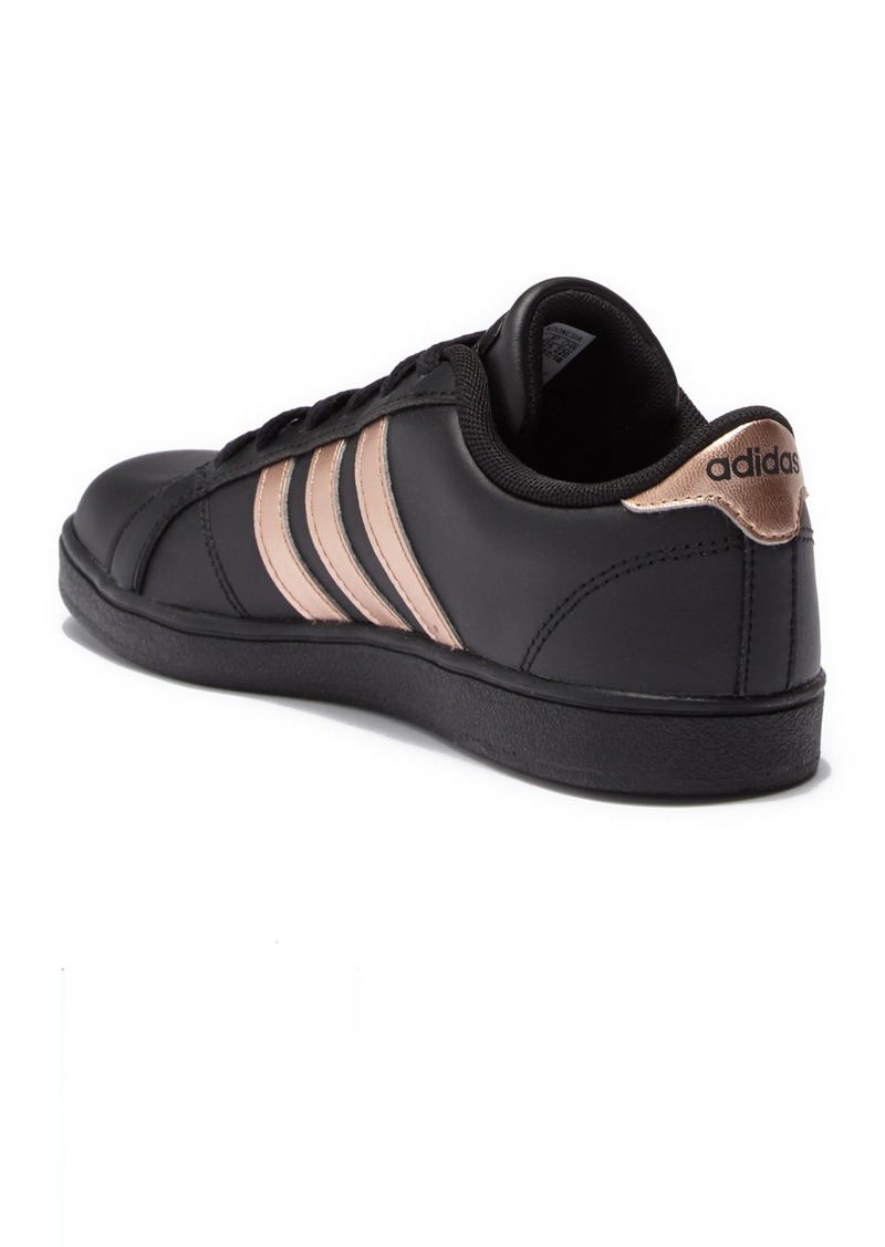adidas  Baseline K Leather Sneaker (Little Kid & Big Kid