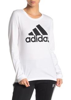 Adidas Basic Brand Logo Long Sleeve T-Shirt