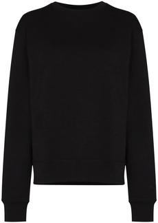 Adidas x Pharrell Williams Basics embroidered logo sweatshirt