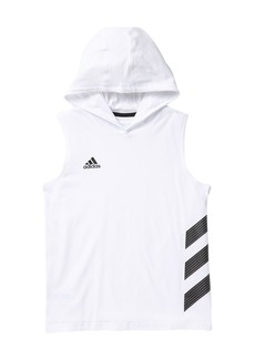 Adidas Basketball Stripe Hoodie (Toddler, Little Boys, & Big Boys)