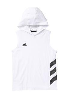 Adidas Basketball Stripe Hoodie (Toddler, Little Boys, & Big Boys)