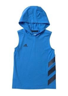 Adidas Basketball Stripe Hoodie (Toddler & Little Boys)