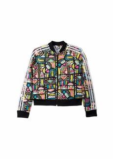 Adidas Bel Air Crop Superstar Jacket (Little Kids/Big Kids)