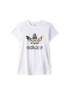 Adidas Bel Air Slim Tee (Little Kids/Big Kids)