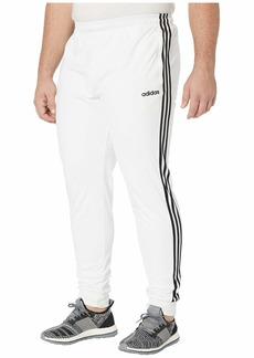Adidas Big & Tall Essential 3-Stripe Tricot Open Hem Pants