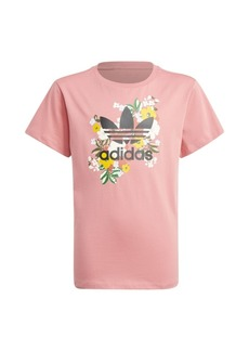 Adidas Big Girls Her Studio London Floral Tee