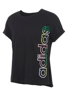 Adidas Big Girls Waist Dolman T-shirts