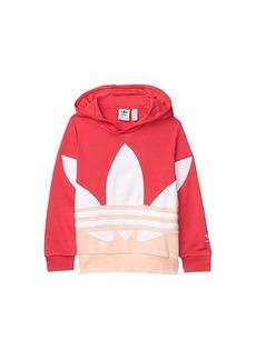 Adidas Big Trefoil Hoodie (Toddler/Little Kids/Big Kids)