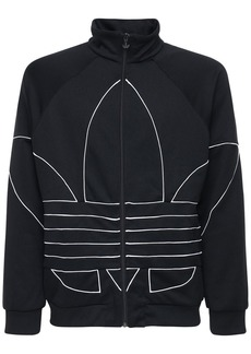 Adidas Big Trefoil Outline Polytrico Track Top