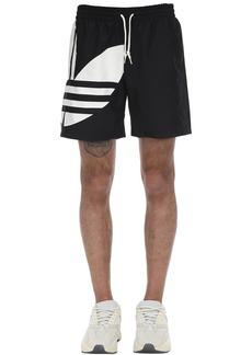 Adidas Big Trefoil Tech Swim Shorts