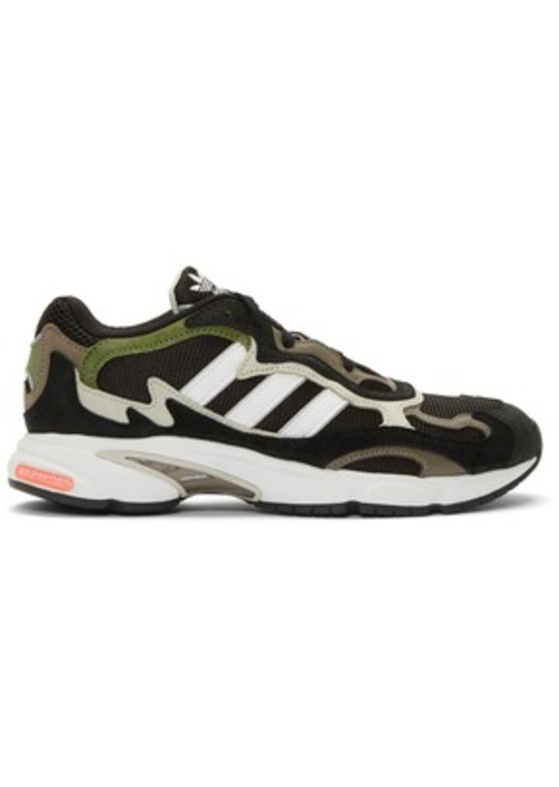 Adidas Black & White Temper Run Sneakers