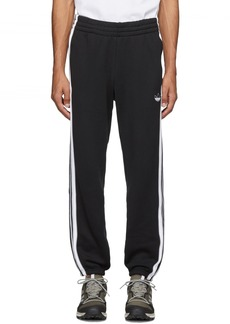 Adidas Black 3-Stripe Lounge Pants