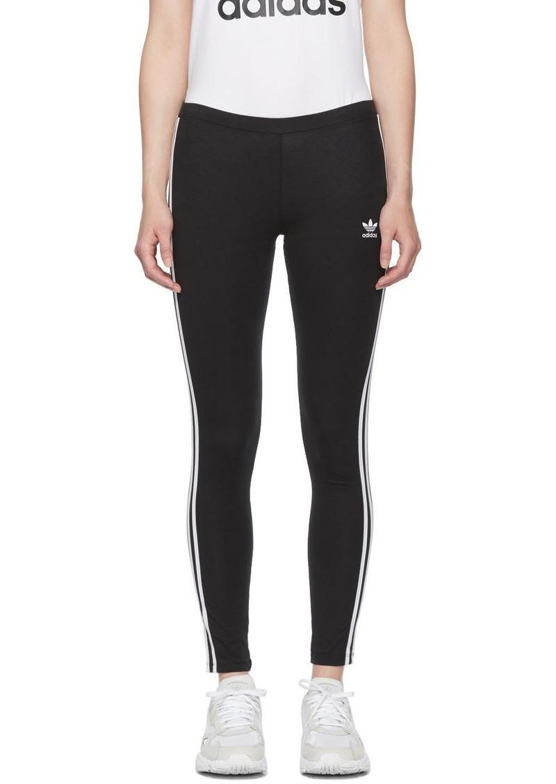 Adidas Black 3-Stripes Leggings