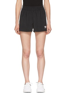 Adidas Black 3-Stripes Shorts