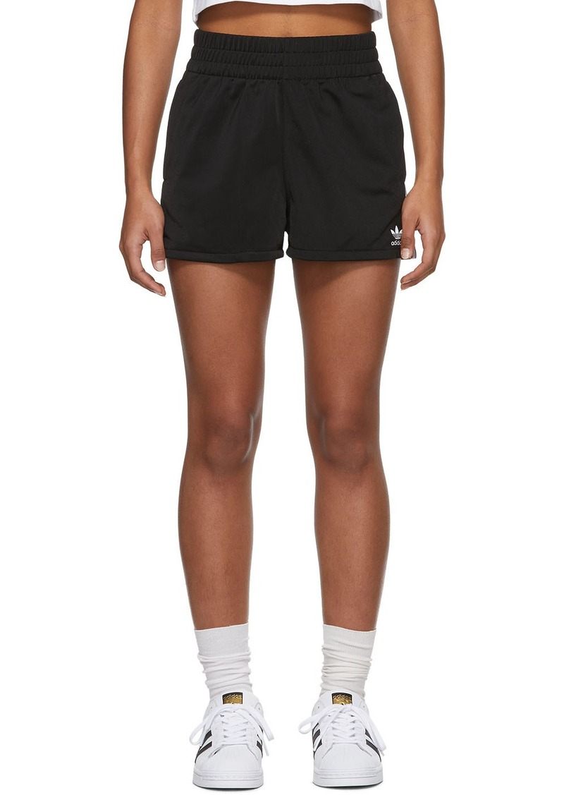Adidas Black 3 Stripes Shorts