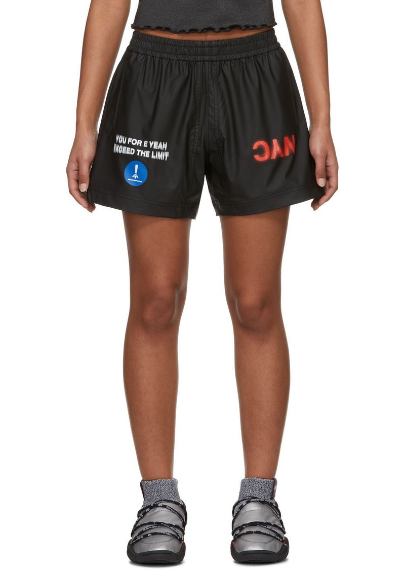 Adidas Black AW Shorts