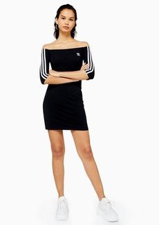 Black Bardot Dress By Adidas