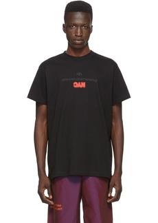 Adidas Black Graphic T-Shirt