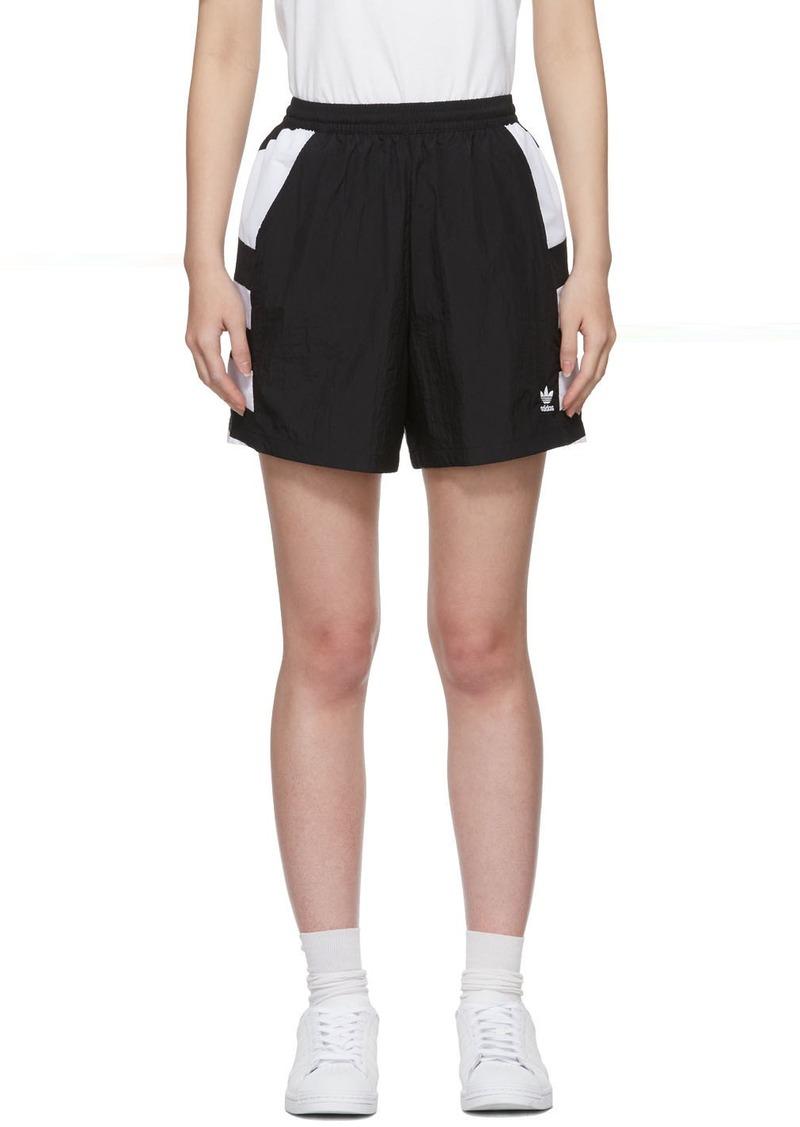 Adidas Black Large Logo Shorts