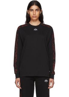 Adidas Black Long Sleeve Logo T-Shirt