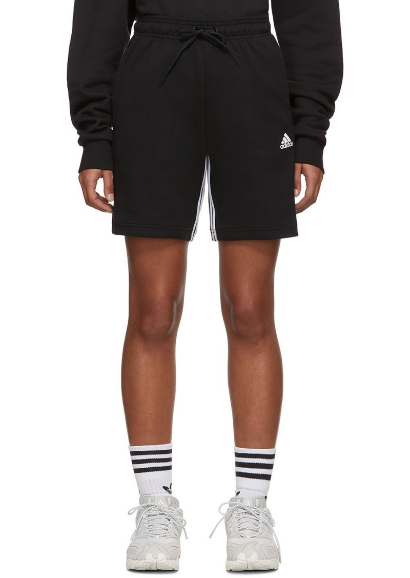 Adidas Black Must Haves 3-Stripes Shorts