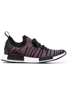 Adidas Black NMD R1 STLT Primeknit sneakers