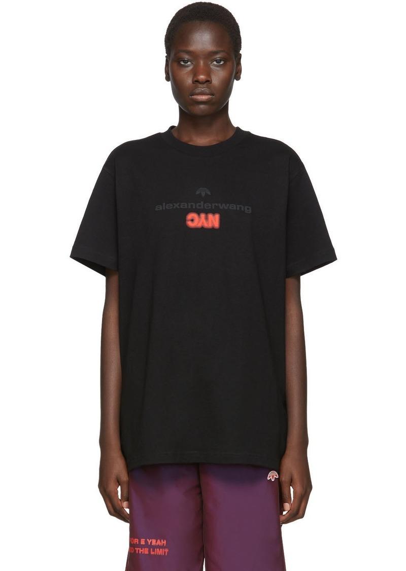 Adidas Black 'NYC' T-Shirt
