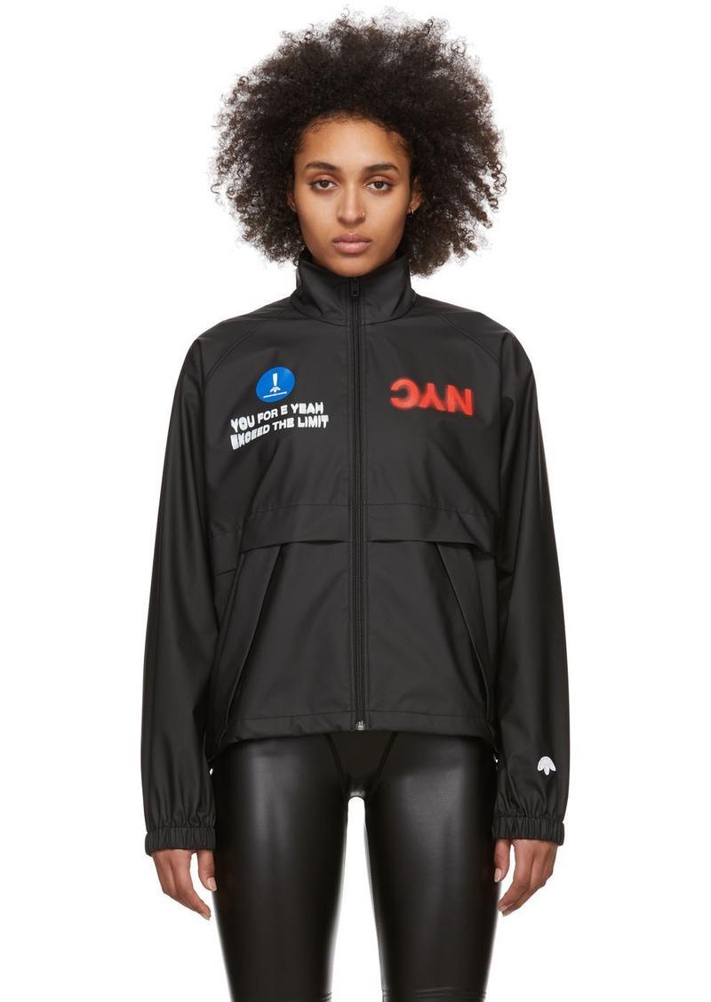 Adidas Black 'NYC' Track Jacket