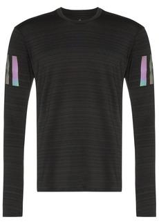 Adidas black runner long sleeve T-shirt
