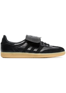 Adidas Black Samba Recon LT leather sneakers