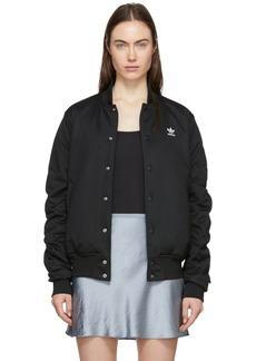 Adidas Black SC Bomber Jacket