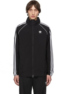 Adidas Black SST Windbreaker Jacket