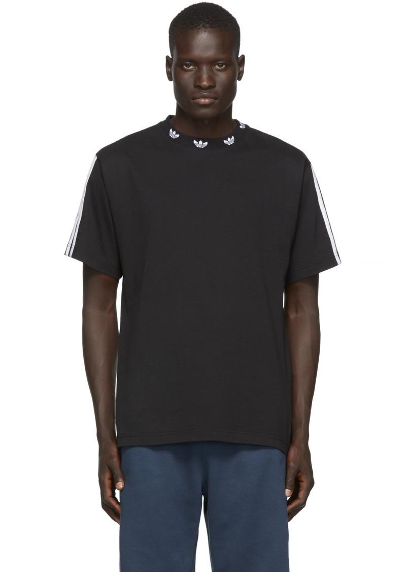 Adidas Black Trefoil T-Shirt