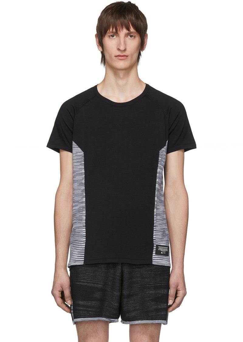 Adidas Black Wool Cru T-Shirt