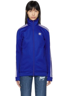 Adidas Blue Franz Beckenbauer Track Jacket