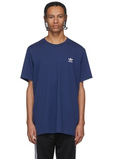 Adidas Blue Trefoil Essentials T-Shirt