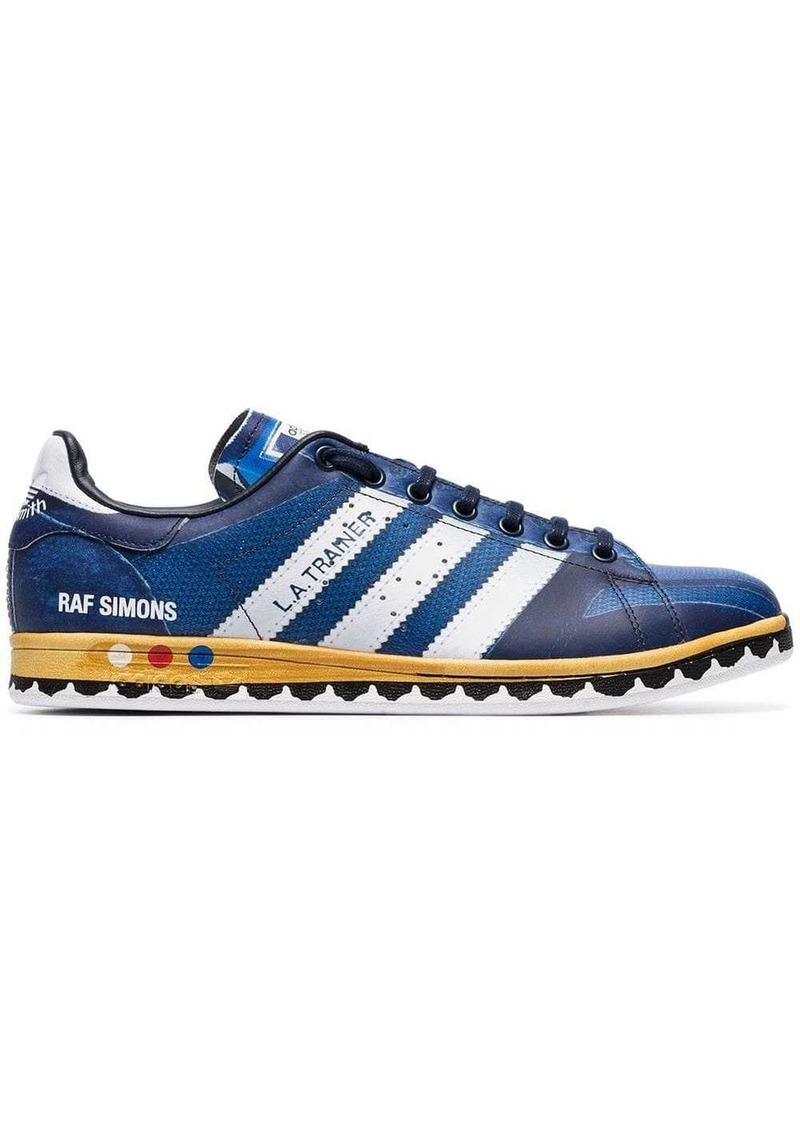 Adidas Blue X Raf Stan Smith LA leather sneakers