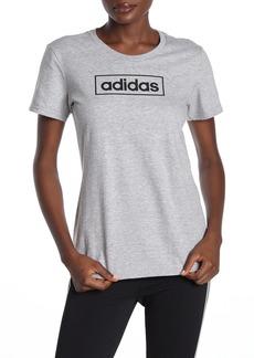 Adidas Box Brand Logo T-Shirt