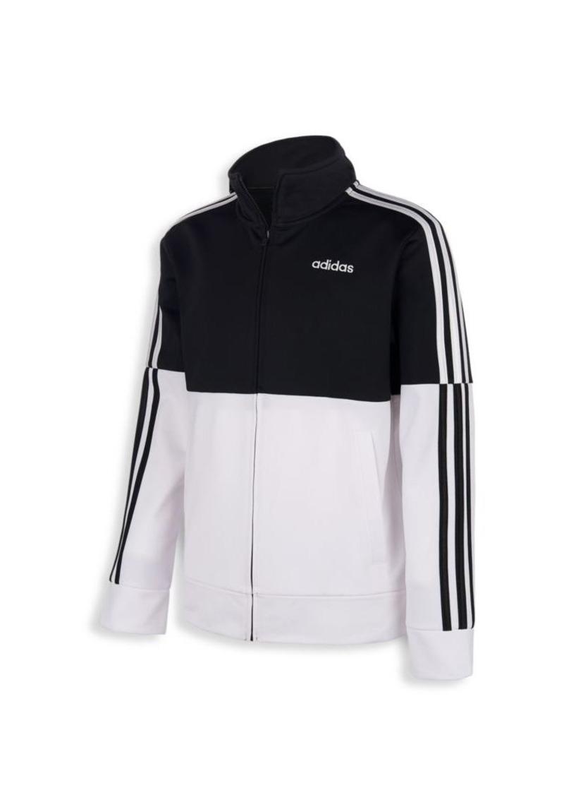 Adidas Boy's Colorblocked Iconic Tricot Jacket