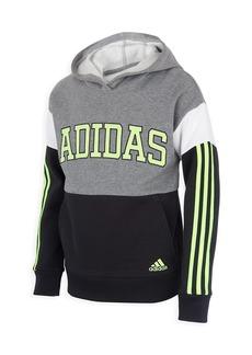 Adidas Boy's Core Colorblock Pullover Hoodie
