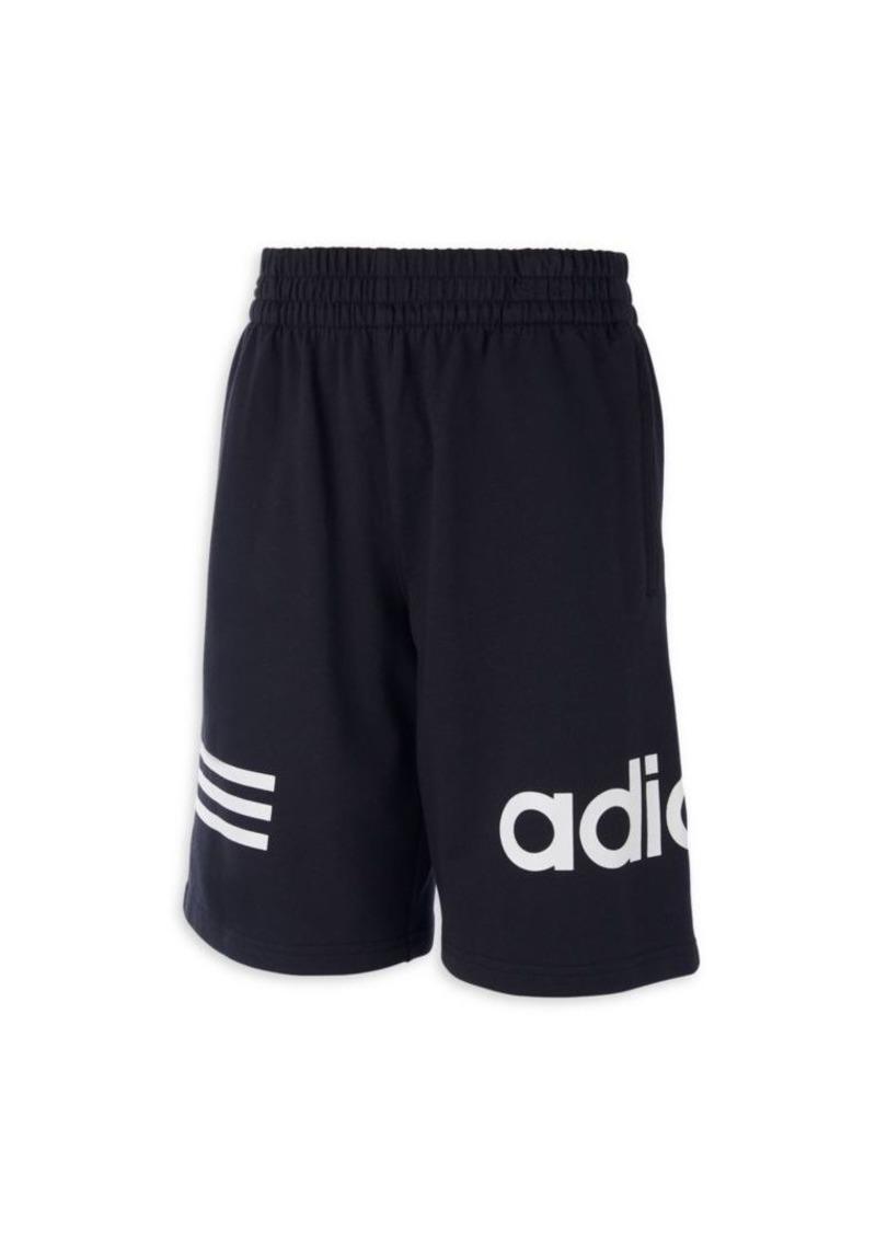 Adidas Boy's Core Cotton Shorts