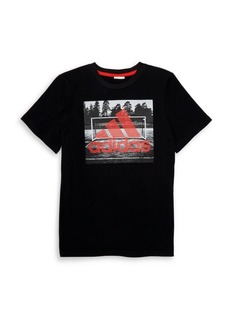 Adidas Boy's Field Court Graphic Tee