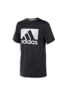 Adidas Boy's Knockthrough Logo Tee