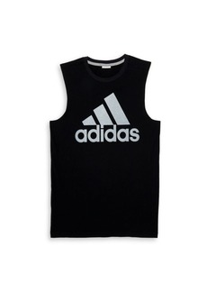Adidas Boy's Logo Graphic Sleeveless T-Shirt